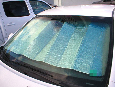 Keeping Your Parked Car Cooler this Summer