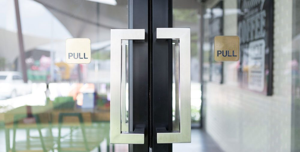 Protecting Storefront Doors with New Technology